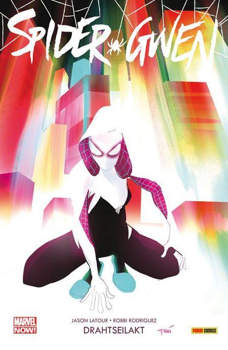Spider-Gwen 1: Drahtseilakt - Das Cover
