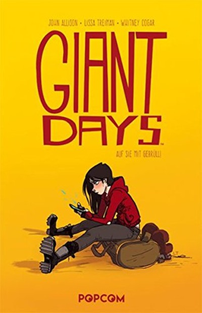 Giant Days 1: Auf sie mit Gebrüll! - Das Cover
