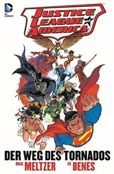 Justice League of America: Der Weg des Tornados - Das Cover
