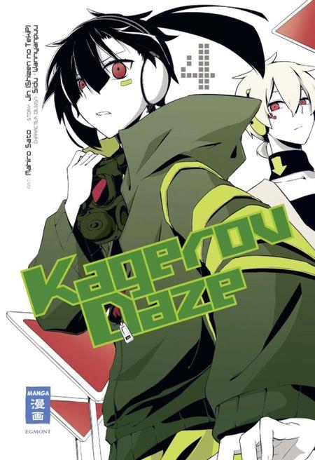 Kagerou Daze 4 - Das Cover