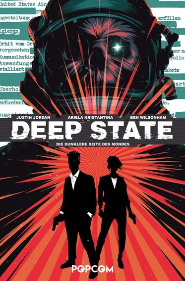 Deep State 1: Die dunklere Seite des Mondes - Das Cover