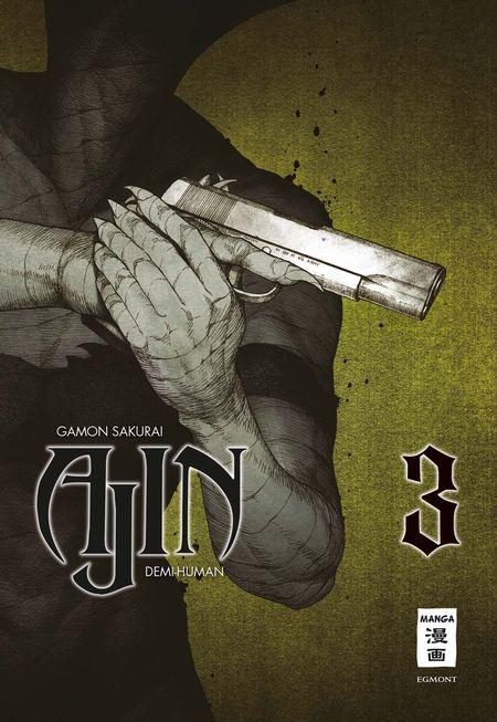 Ajin Demi-Human 3 - Das Cover