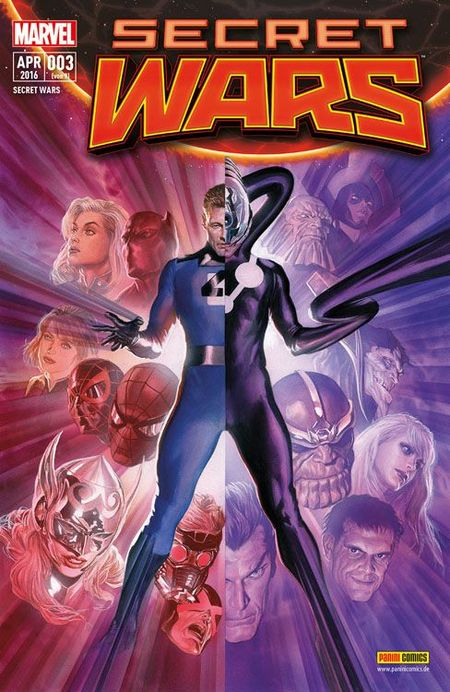 Secret Wars #3 - Das Cover