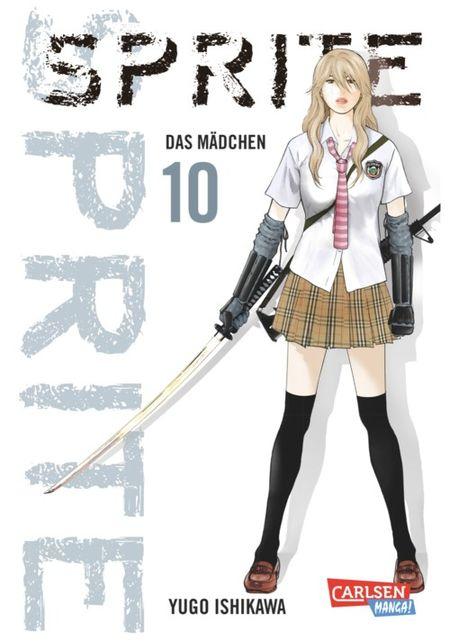Sprite 10 - Das Cover