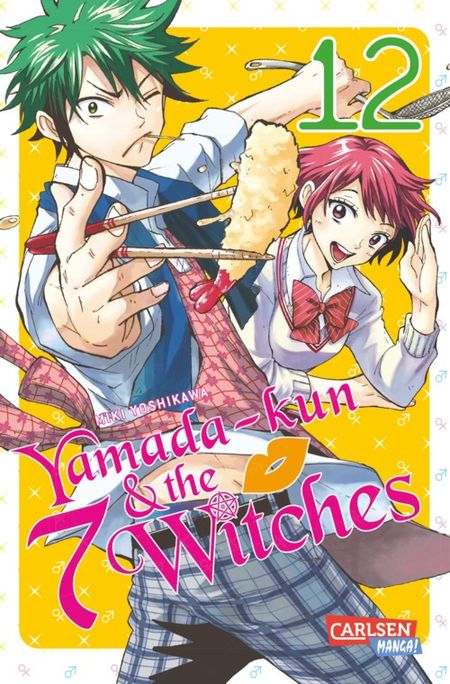 Yamada-kun and the 7 Witches 12 - Das Cover