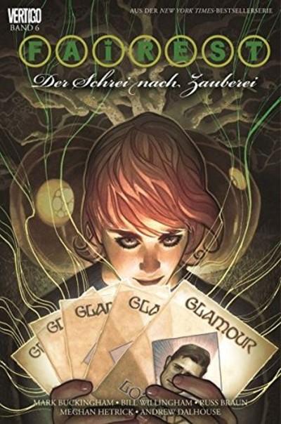 Fairest 6: Der Schrei nach Zauberei - Das Cover