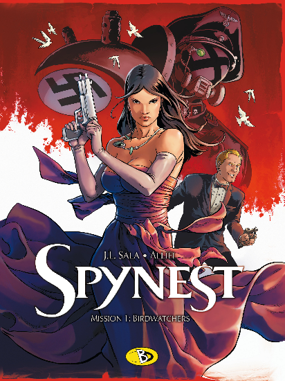 Spynest 1: Birdwatchers - Das Cover