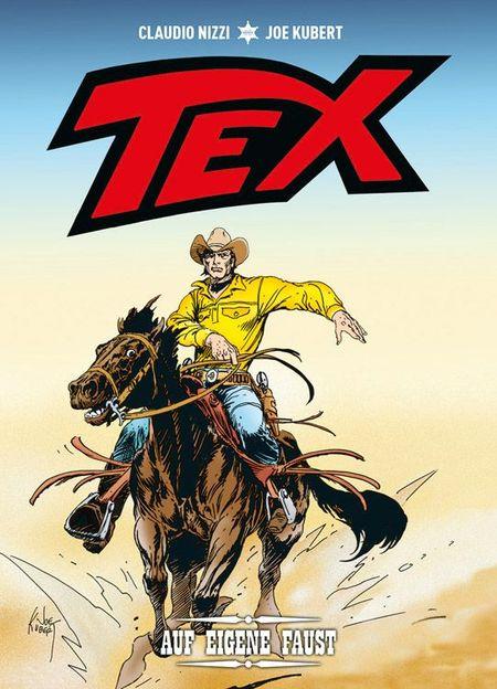 Tex: Auf eigene Faust - Das Cover