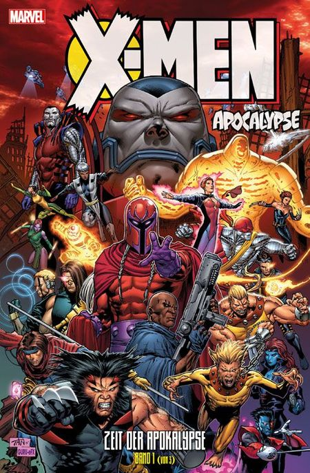 X-Men: Apocalypse - Zeit der Apokalypse 1 - Das Cover