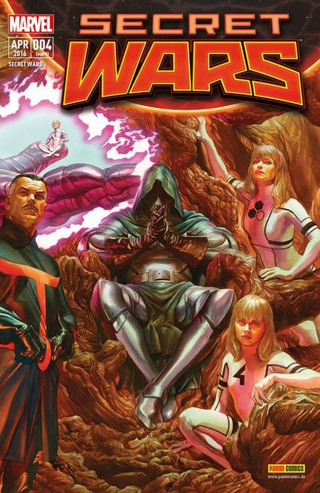 Secret Wars #4 - Das Cover