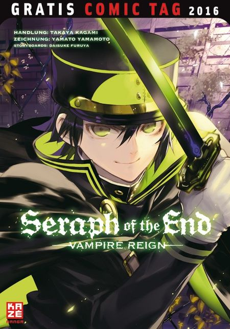 Seraph of the End– Gratis Comic Tag 2016 - Das Cover