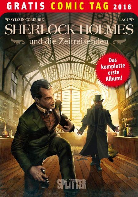 Sherlock Holmes und die Zeitreisenden – Gratis Comic Tag 2016 - Das Cover