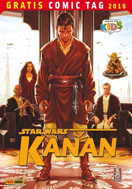 Star Wars Kanan – Gratis Comic Tag 2016 - Das Cover