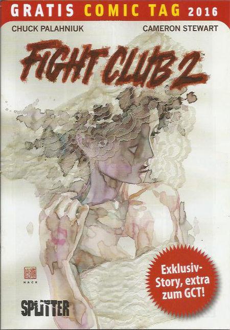 Fight Club 2 - Gratis Comic Tag 2016 - Das Cover