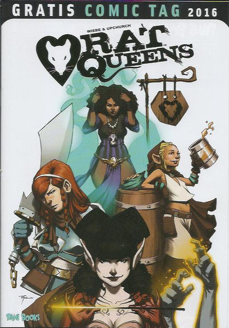Rat Queens - Gratis Comic Tag 2016 - Das Cover