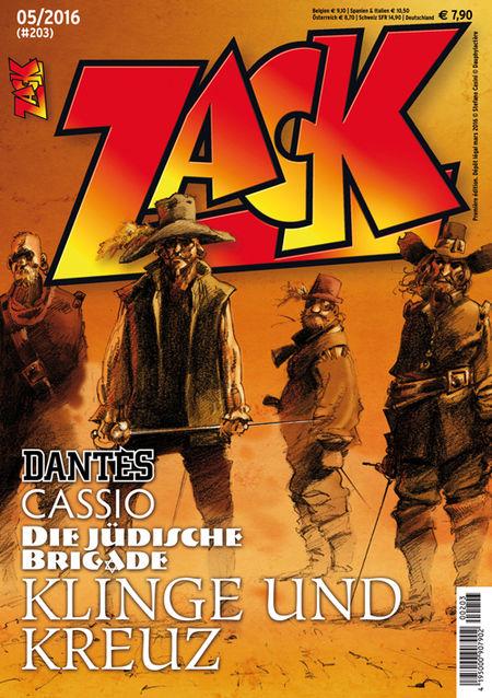 Zack 203 - Das Cover