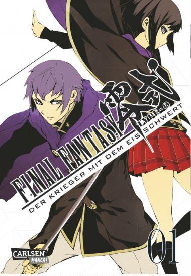 Final Fantasy - Type-0 Band 1: Der Krieger mit dem Eisschwert - Das Cover