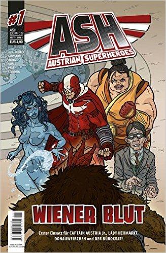 Austrian Superheroes 1 - Das Cover