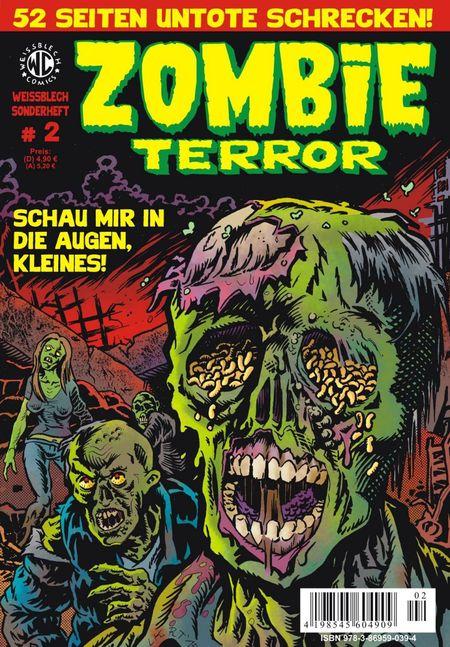 Weissblech Sonderheft: Zombie-Terror 2 - Das Cover