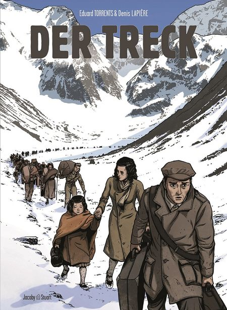 Der Treck - Das Cover
