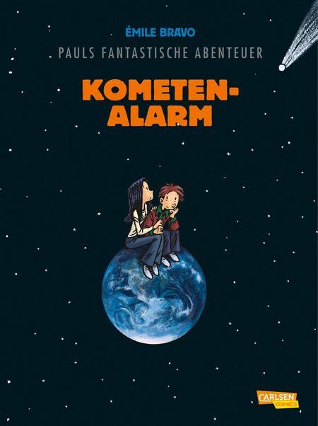 Pauls fantastische Abenteuer 6– Kometenalarm - Das Cover
