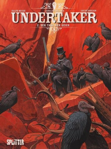Undertaker 2– Der Tanz der Geier - Das Cover