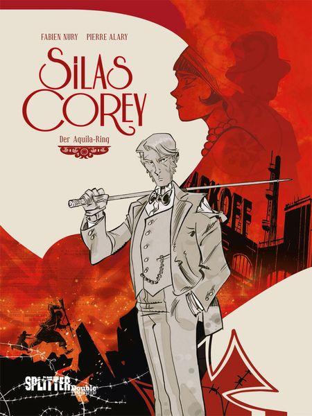 Silas Corey Band 1. Der Aquila-Ring - Das Cover