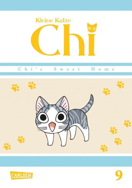 Kleine Katze Chi 9 - Das Cover