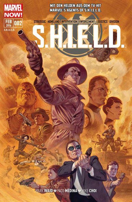 S.H.I.E.L.D. 2 - Das Cover
