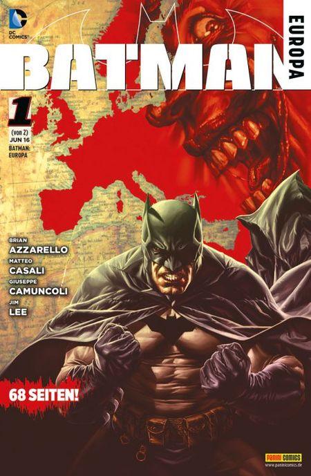 Batman Europa 1 - Das Cover