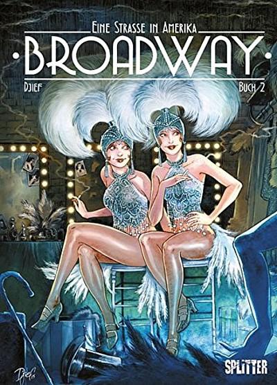 Eine Straße in Amerika: Broadway – Buch 2 - Das Cover