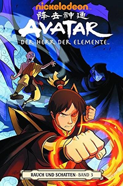 Avatar: Der Herr der Elemente Band 13: Rauch und Schatten 3 - Das Cover