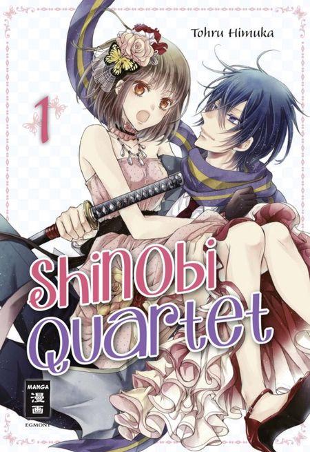 Shinobi Quartet 1 - Das Cover