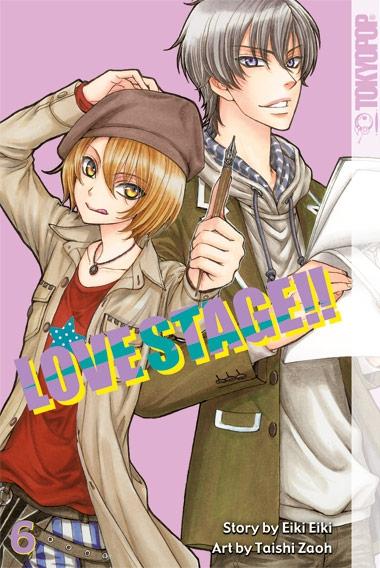 Love Stage!! 6 - Das Cover
