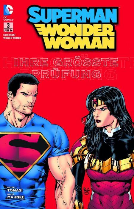 Superman/Wonder Woman 3: Staatsfeind Nummer 1 - Das Cover