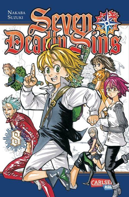 Seven Deadly Sins 8 - Das Cover