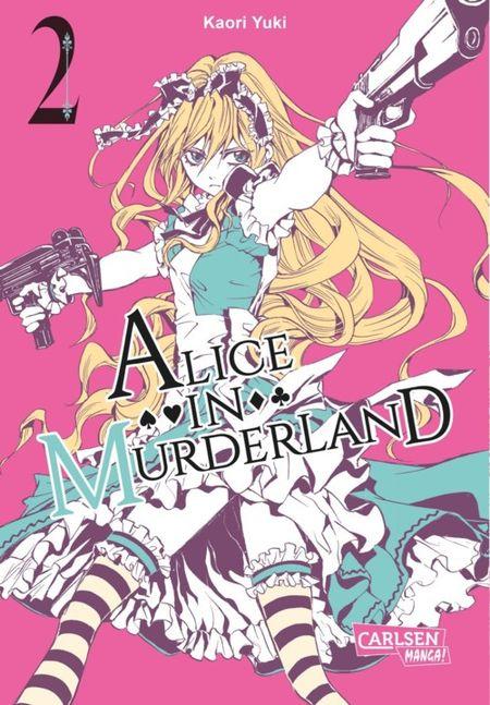 Alice in Murderland 2 - Das Cover