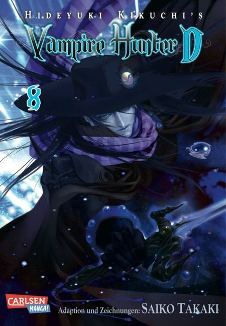 Vamire Hunter D 8 - Das Cover