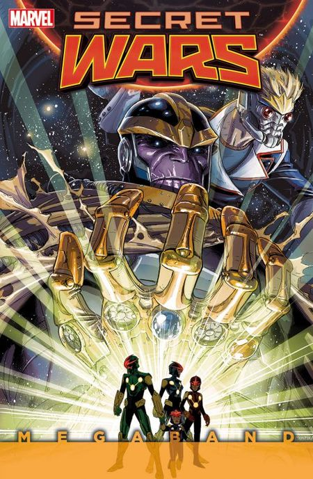 Secret Wars Megaband 2 - Das Cover