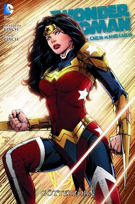 Wonder Woman - Göttin des Krieges 2: Götterzorn - Das Cover