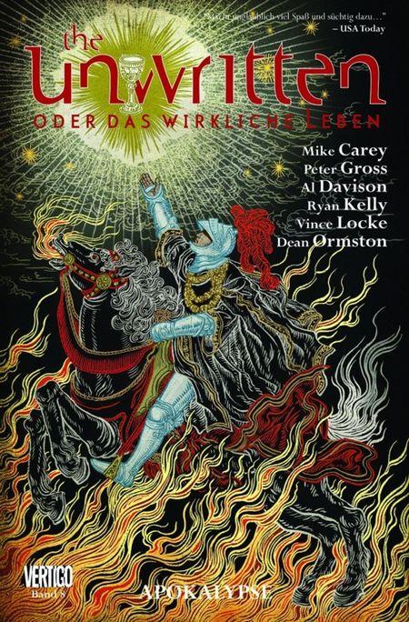 The Unwritten – oder das wirkliche Leben 8: Apokalypse - Das Cover