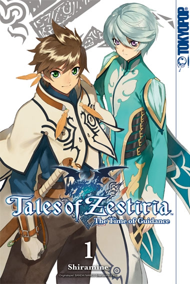 Tales of Zestiria - The Time of Guidance 01 - Das Cover