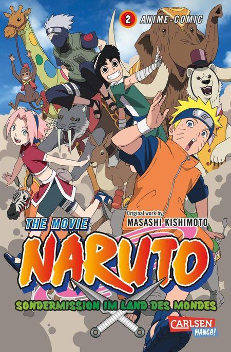 Naruto The Movie: Sondermission im Land des Mondes 2 - Das Cover