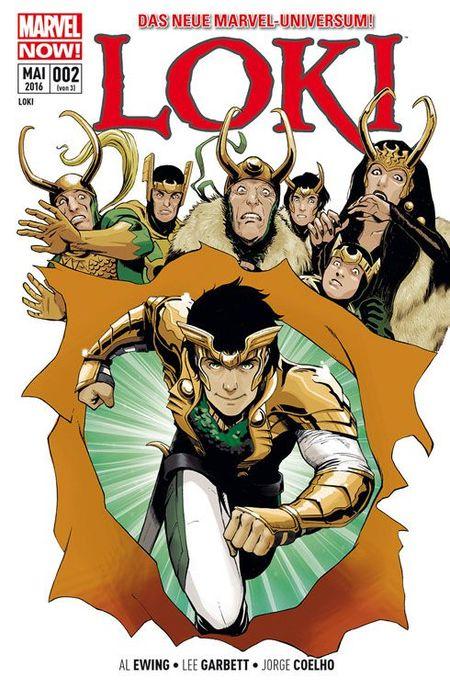 Loki 2: Der Preis der Lüge - Das Cover