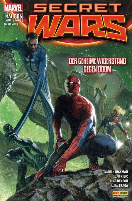 Secret Wars #6 - Das Cover