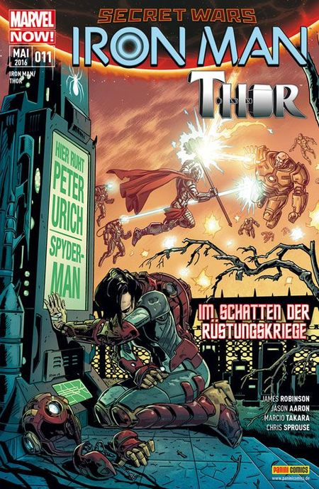 Iron Man / Thor 11 - Das Cover