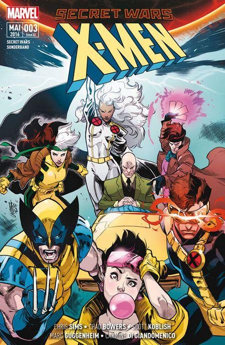 SECRET WARS SONDERBAND 3: X-MEN - Das Cover