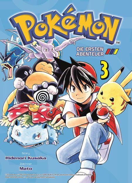 Pokémon: Die ersten Abenteuer 3 - Das Cover