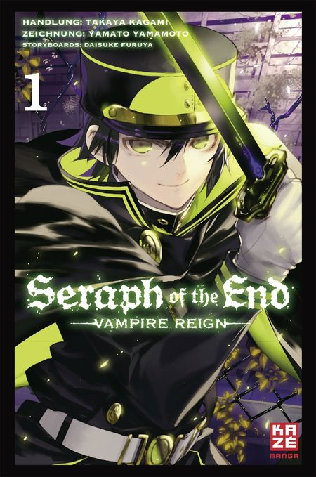 Seraph of the End 01: Vampire Reign - Das Cover