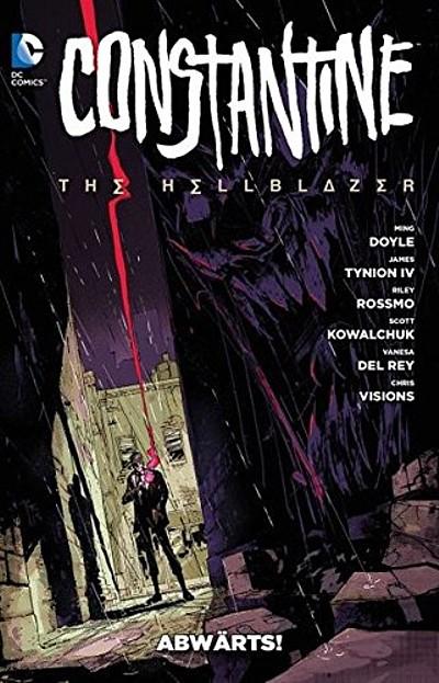 Constantine – The Hellblazer 1: Abwärts - Das Cover